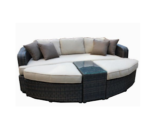 Kontiki, kontiki Daybeds, Kontiki Outdoor Furniture, Kontiki Wicker Daybeds, Outdoor Furniture, Patio Furniture, Wicker Daybeds, Daybeds,