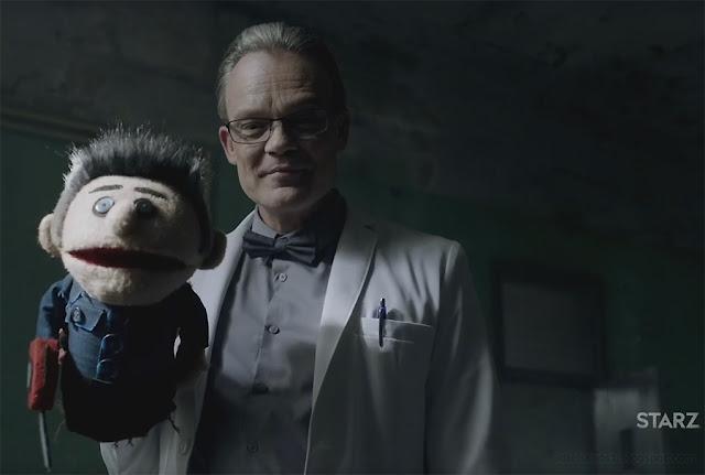 Starz TV Ash vs Evil Dead Teaser Trailer Ash Puppet