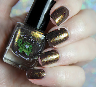 Turtle Tootsie Polishes Liberty Bell | A Mini Indied Box April 2017