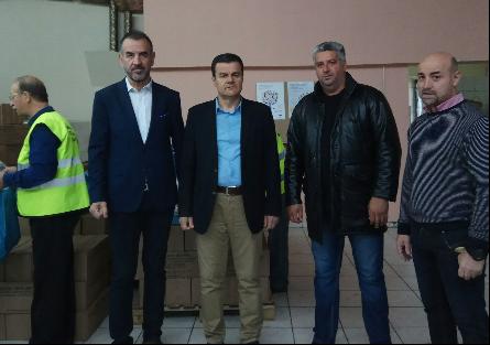 Ολοκληρώθηκε η διανομή τροφίμων από το πρόγραμμα ΤΕΒΑ στο Δήμο Λαρισαίων