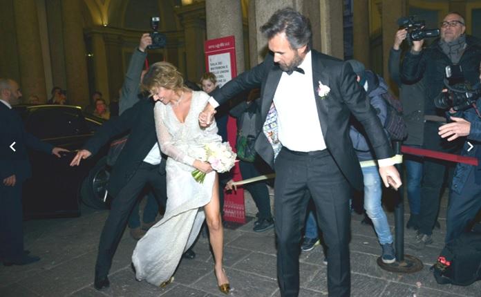 Momenti divertenti alle nozze di Carlo Cracco e Rosa Fanti - Video