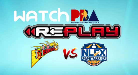 Video List:SMB vs NLEX game replay January 19, 2018 PBA Philippine Cup