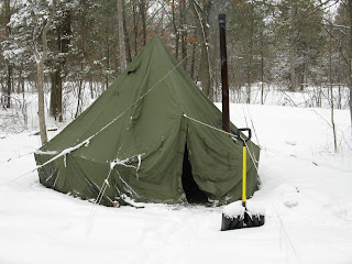 U S Army Surplus 5 Man Arctic Tent