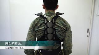 AD Singapura Uji Exoskeleton Titanium