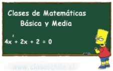 Clases Particulares matemáticas Chile