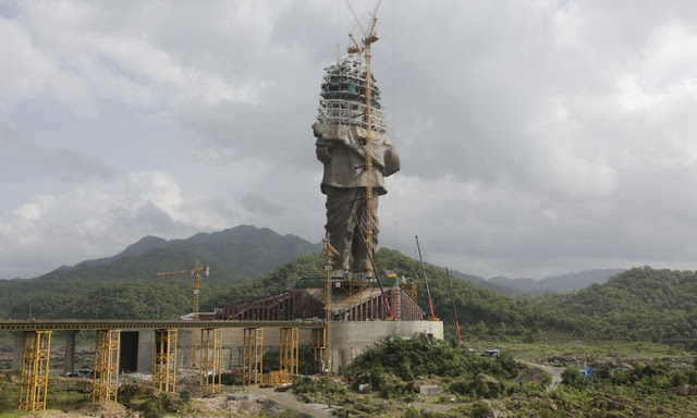 India to break record for world's largest statue...twice