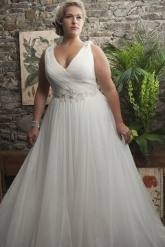 Used Wedding Dresses Plus Size