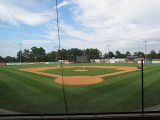 Home to center, Burlington Athletic Stadium