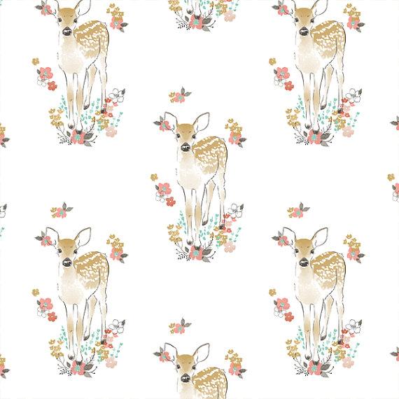 bambi wallpaper for nursery