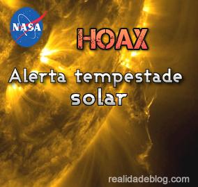 aviso da nasa tempestade solar