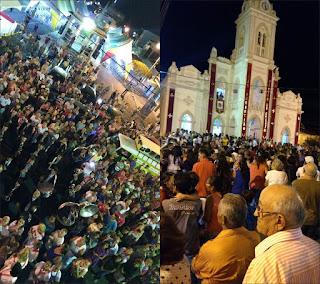 Público prestigia abertura da festa de São Sebastião em Picuí; veja imagens