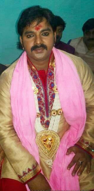 pawan singh mariage day and photos