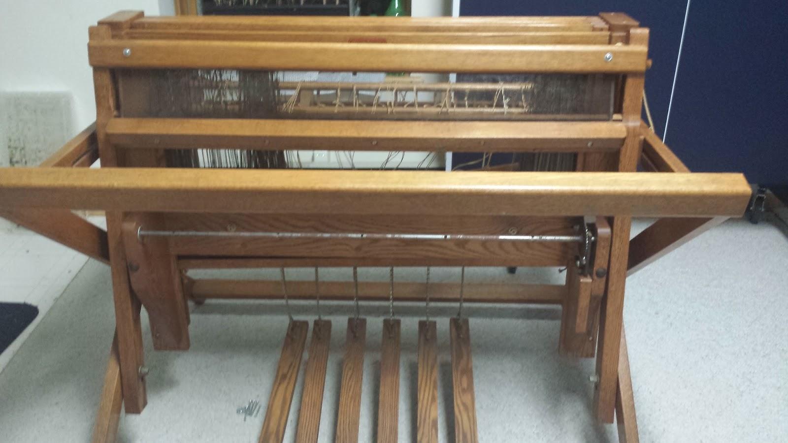 KB Knits & Crafts: Updating my 1960s Kessenich Floor Loom