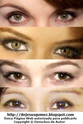 Imágenes de ojos de mujeres de Jesus Gómez