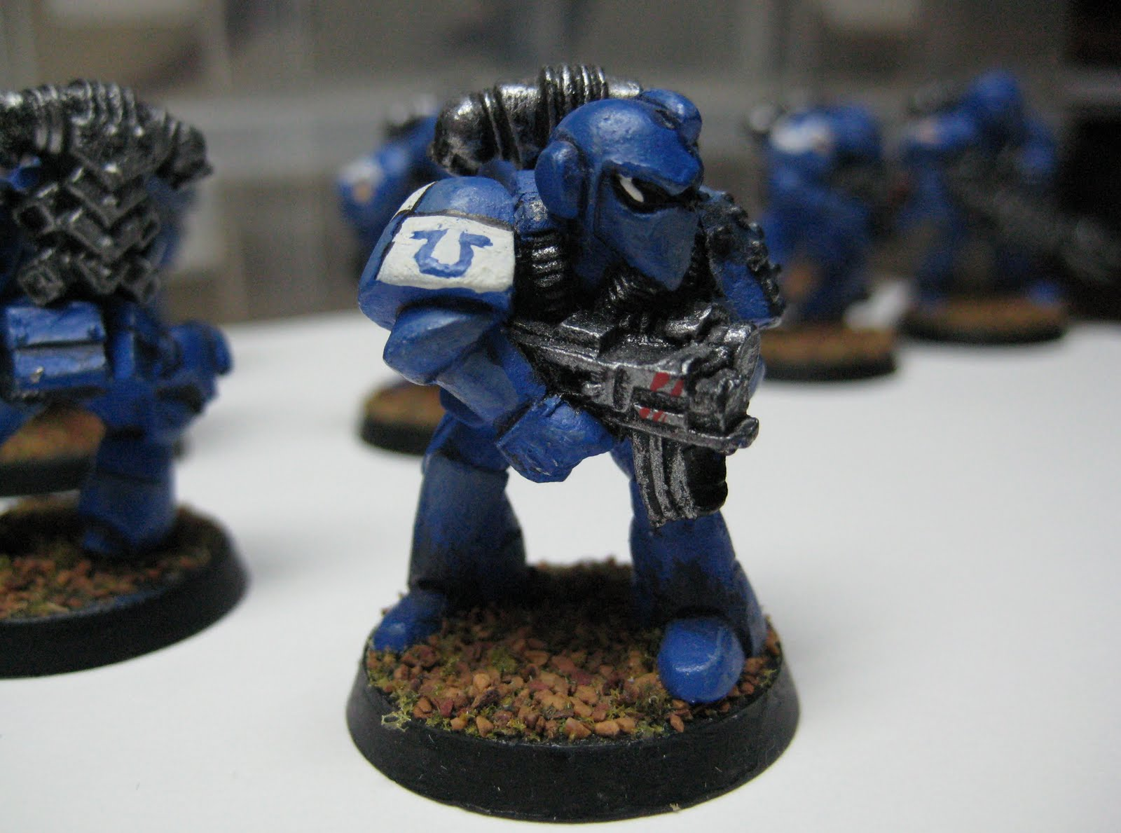 Ghola Scale Rogue Trader Era Metal Space Marines