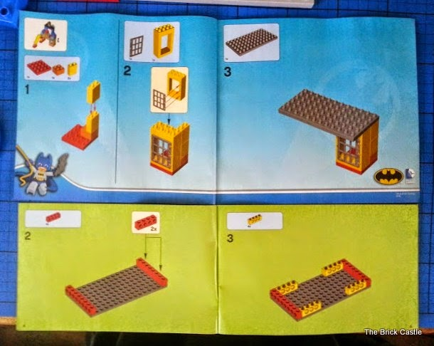 LEGO DUPLO Batcave Adventure set review instruction booklet
