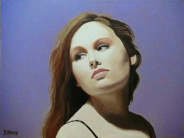 Portrait Paintings By Yvan Favre
