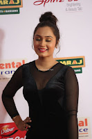 Vennela in Transparent Black Skin Tight Backless Stunning Dress at Mirchi Music Awards South 2017 ~  Exclusive Celebrities Galleries 062.JPG