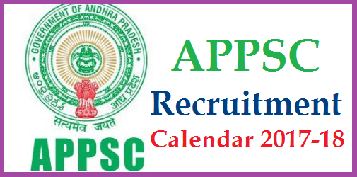 APPSC Recruitment Calendar/Dates for Notification, Examination for Screening Test and Main Exam //2017-18 in Andhra Pradesh @psc.ap.gov.in | Andhra Pradesh Public Service Commission Recruitment Schedule for the 2017-18 Released by Officials Download Here | Detailed information regarding APPSC Upcomming Recruitment Notifications in AP like Notification Dates Examination Dates Screening Test Dates Main exam Dates | Department wise Recruitment details | APPSC Group I Group II Group IV Posts Recruitment Schedule by Govt of AP | Govt Jobs Recruitment Schedule for Andhra Pradesh Govt various Departments appsc-recruitment-calendar-for-notifications-screening-test-exam-dates-schedule-download-psc.ap.gov.in