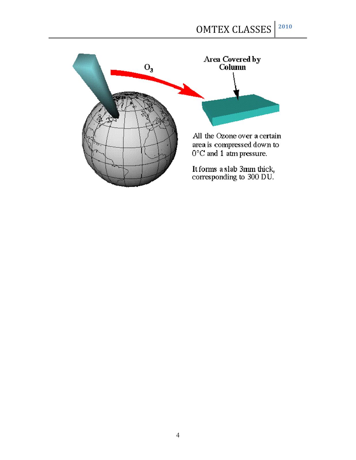 ozone layer essay paper