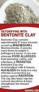 Detoksifikasi dengan Bentonite Clay