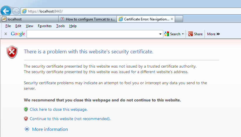 Java Blog & Tools: HTTPS