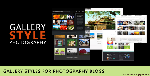 5 Gallery Styles For Photography Blogs
