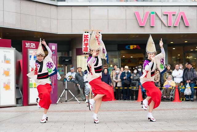せいせき桜まつり、江戸っ子連の女踊りの写真