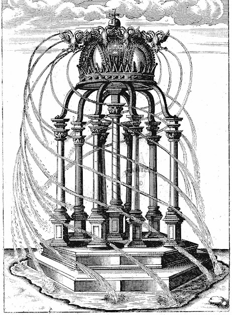 George Andreas Bockler 1600s fountain, large illustration