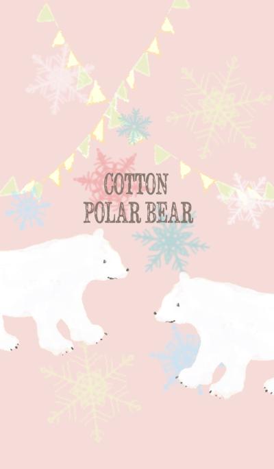 COTTON POLAR BEAR