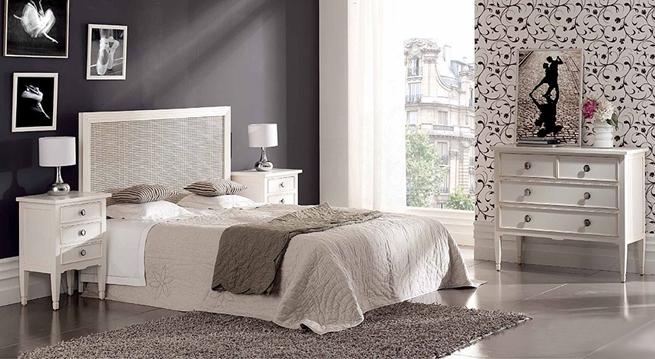 Decoracion con vinilo decorativo murales papel pintado - Pintar pared dormitorio ...