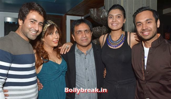 Kailash Nasta with celebs, Page 3 Celebs at Lagerbay New Menu Launch Party