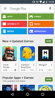 Screenshot Google PlayStore