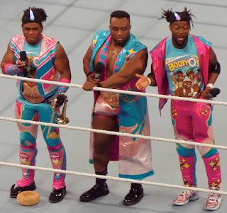 Kofi Kingston Big E Xavier Woods Raw SmackDown Live