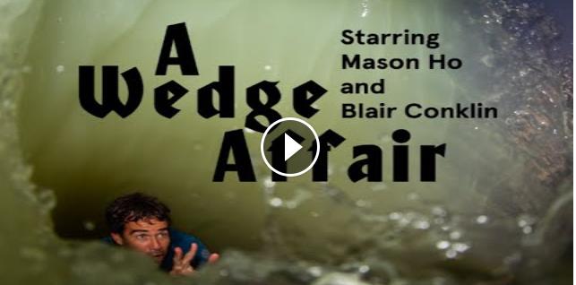 Mason Ho and Blair Conklin create their dream waves in Waco Texas
