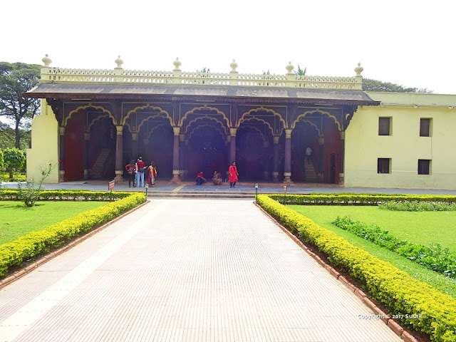 Front View of the Tipu Sultan's Summer Palace