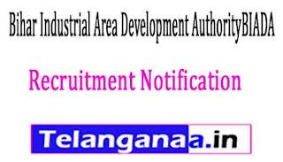 Bihar Industrial Area Development AuthorityBIADA Recruitment Notification 2017