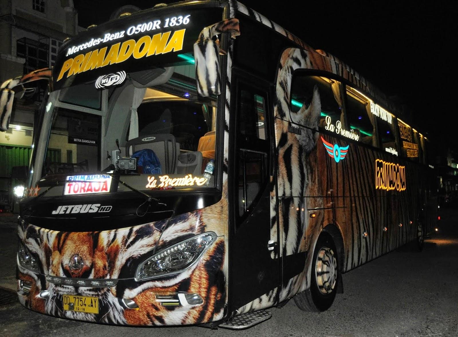 Daftar  Alamat Dan Nomor Telpon Bus Tujuan Toraja