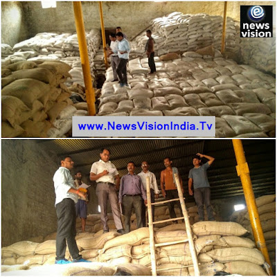 Khushi Nagar Food Stock Warehouse Inspected