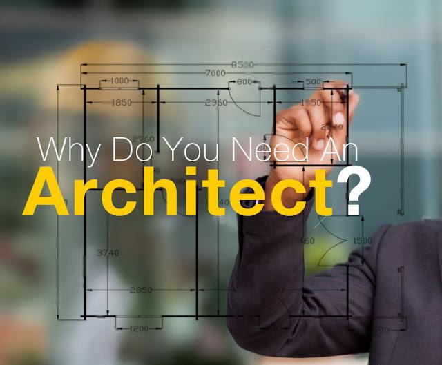 menggunakan jasa arsitek