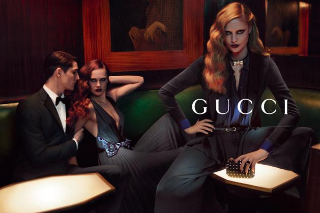 Gucci Pre-Fall 2012 Campaign Featuring Karmen Pedaru And