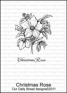 Our Daily Bread Designs - Stamps Christmas Rose