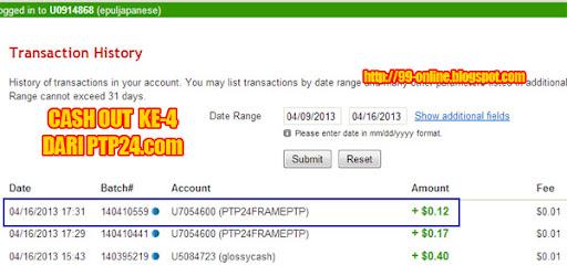 Pembayaran ke-4 dari PTP24.com