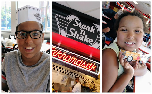 Steak 'n Shake Kids Eat Free Weekends + Enter to win a $50 gift card!