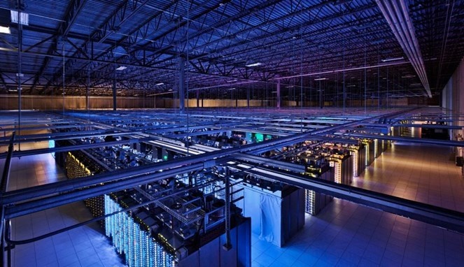 Seperti Apakah Data Center Google