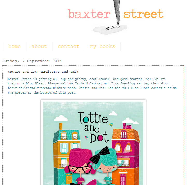 http://baxterstreet.blogspot.com.au/2014/09/tottie-and-dot-exclusive-ted-talk.html