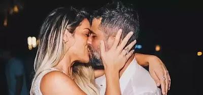 Giovanna Ewbank e Bruno Gagliasso no Réveillon de 2019