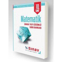 Sınav 10.Sınıf Matematik Örnek Test Çözümlü Soru Bankası