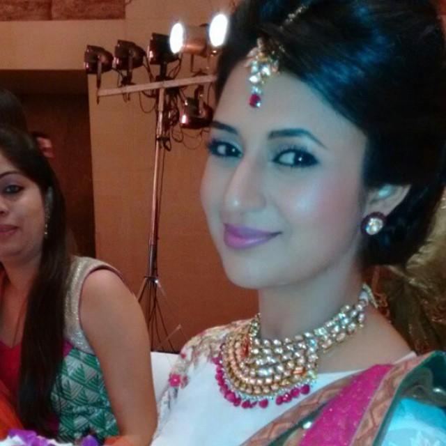 perfection at its peak , divyanka li c ious , divyanka tripathi , karan ankita reception , lovely dt ,, Divyanka Tripathi Pics from Karan Patel's Wedding