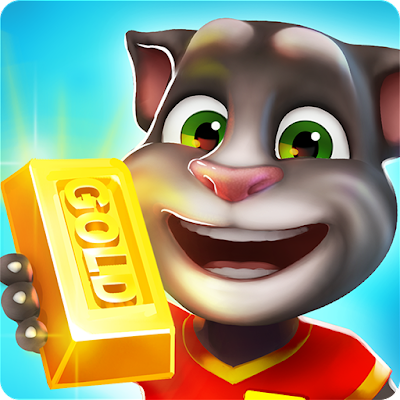 Gratis Unduh Talking Tom Gold Run APK